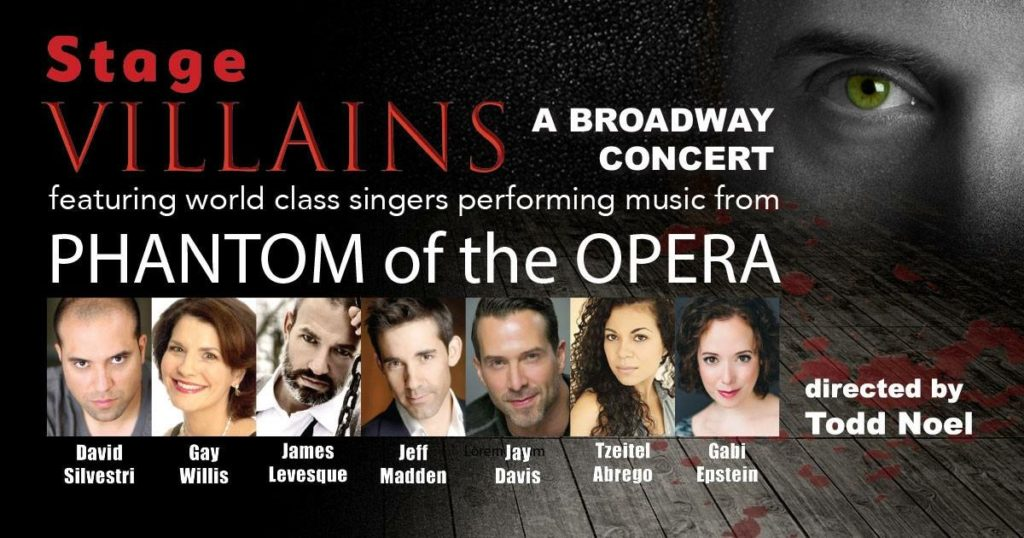 Stage Villains - Banner - Broadway Concert Series