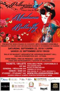 Pellegrini Opera - Madama Butterfly